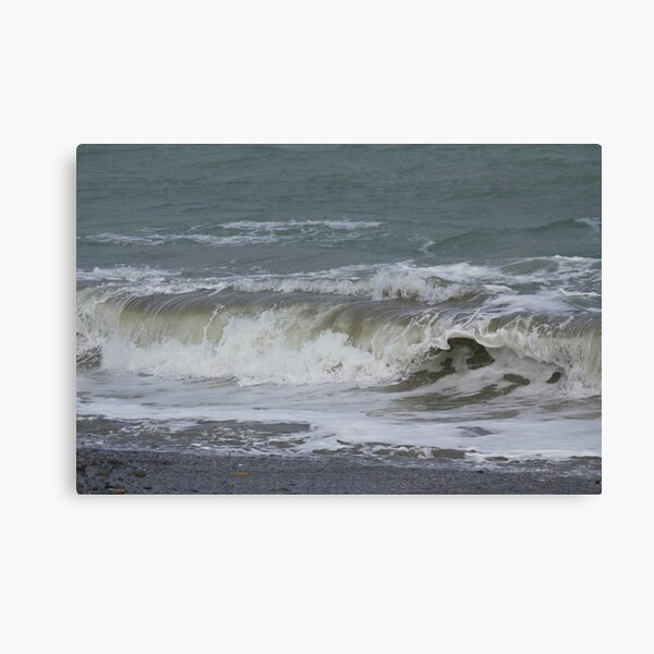 The Green Wave Canvas Print