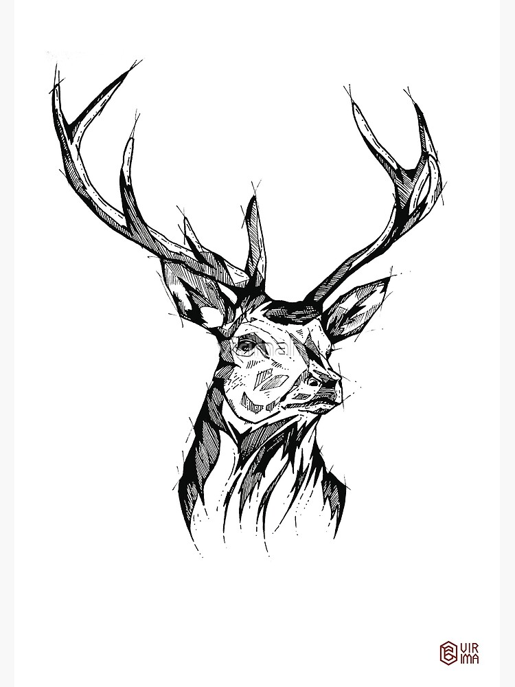 « My Deer - Art Print - Home Decor » par virimah