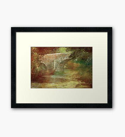 Respryn Bridge  Framed Print
