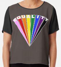 Equality Fan Chiffon Top