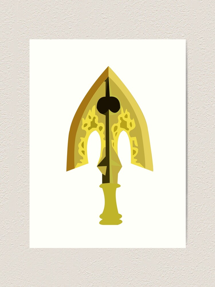 Stand Arrow Art Print By Fairywrendesign Redbubble 14 displayed in a powder blue, gold, navy, seafoam, mint and pink color scheme. redbubble