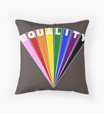 Equality Fan Throw Pillow