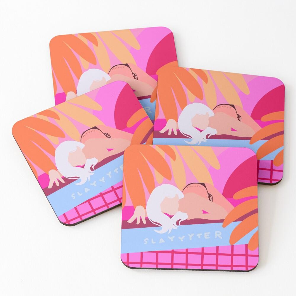 slayyyter Coasters (Set of 4)