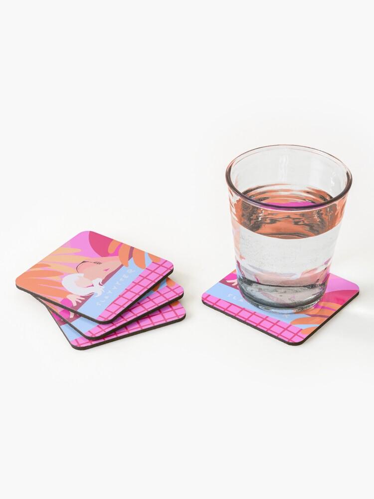 Alternate view of slayyyter Coasters (Set of 4)