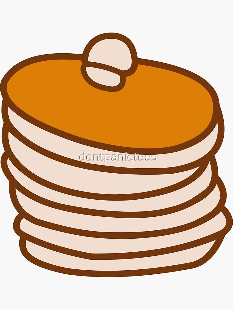 Pancake  by dontpanictees