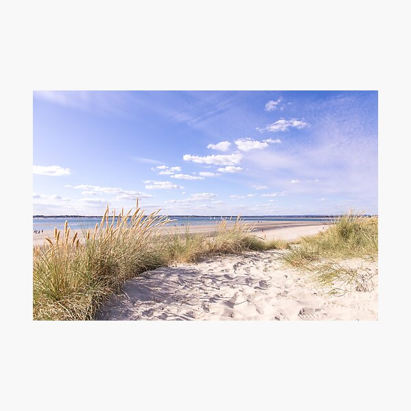 Sand dunes at East Head, West Wittering, Sussex, England Photographic Print