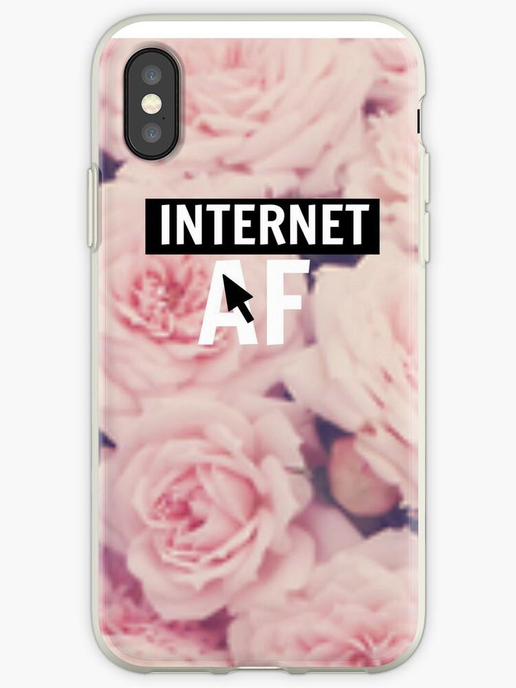 Internet AF Floral by Beatlemily