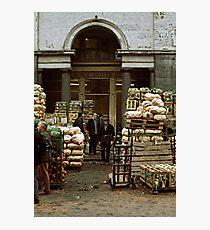 Covent Garden Market, London, 1973. Photographic Print