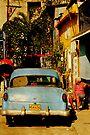 Hanging around, Callejon-De-Hamel, Havana, Cuba by David Carton