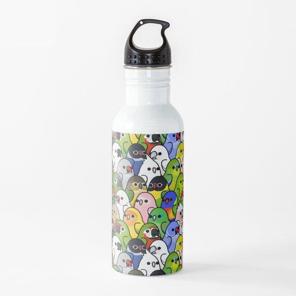 Too Many Birds! Bird Squad 2 Water Bottle