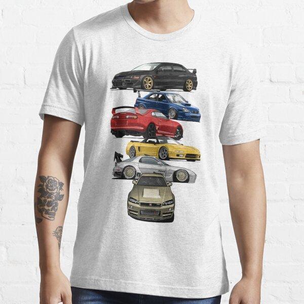 JDM Icons Essential T-Shirt