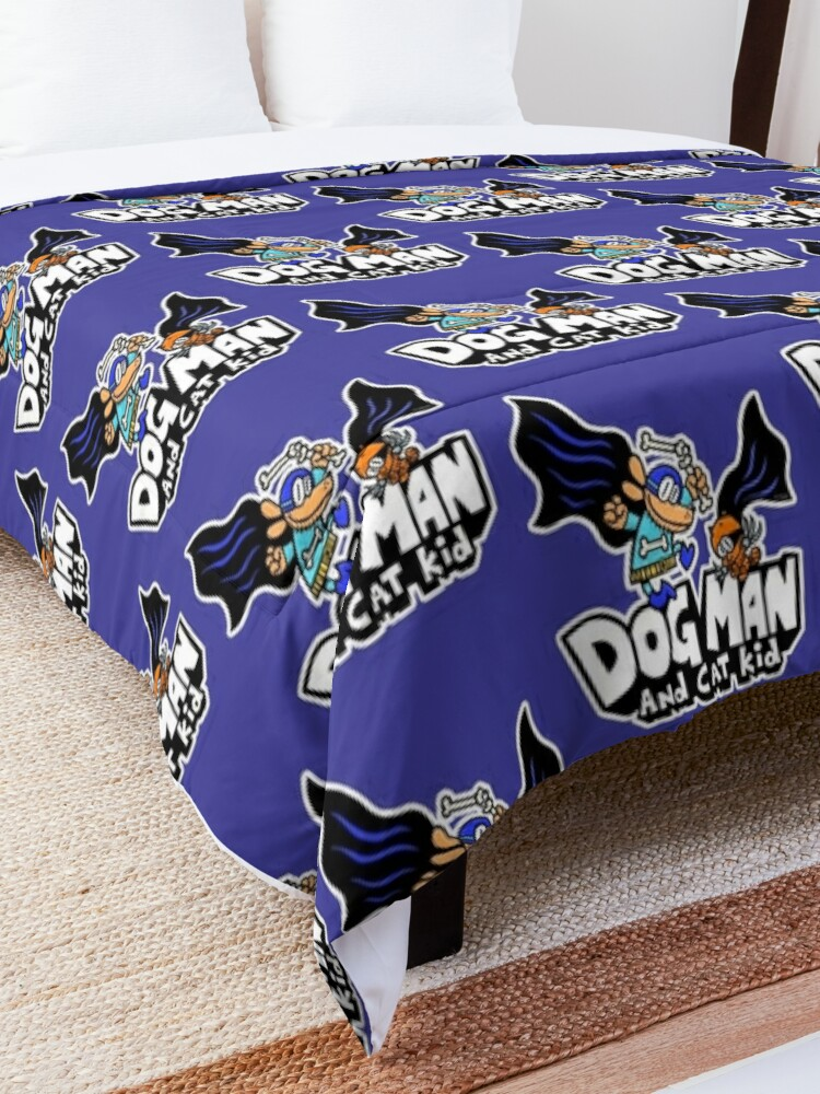 Alternate view of Dog Man and Cat Kid Comforter
