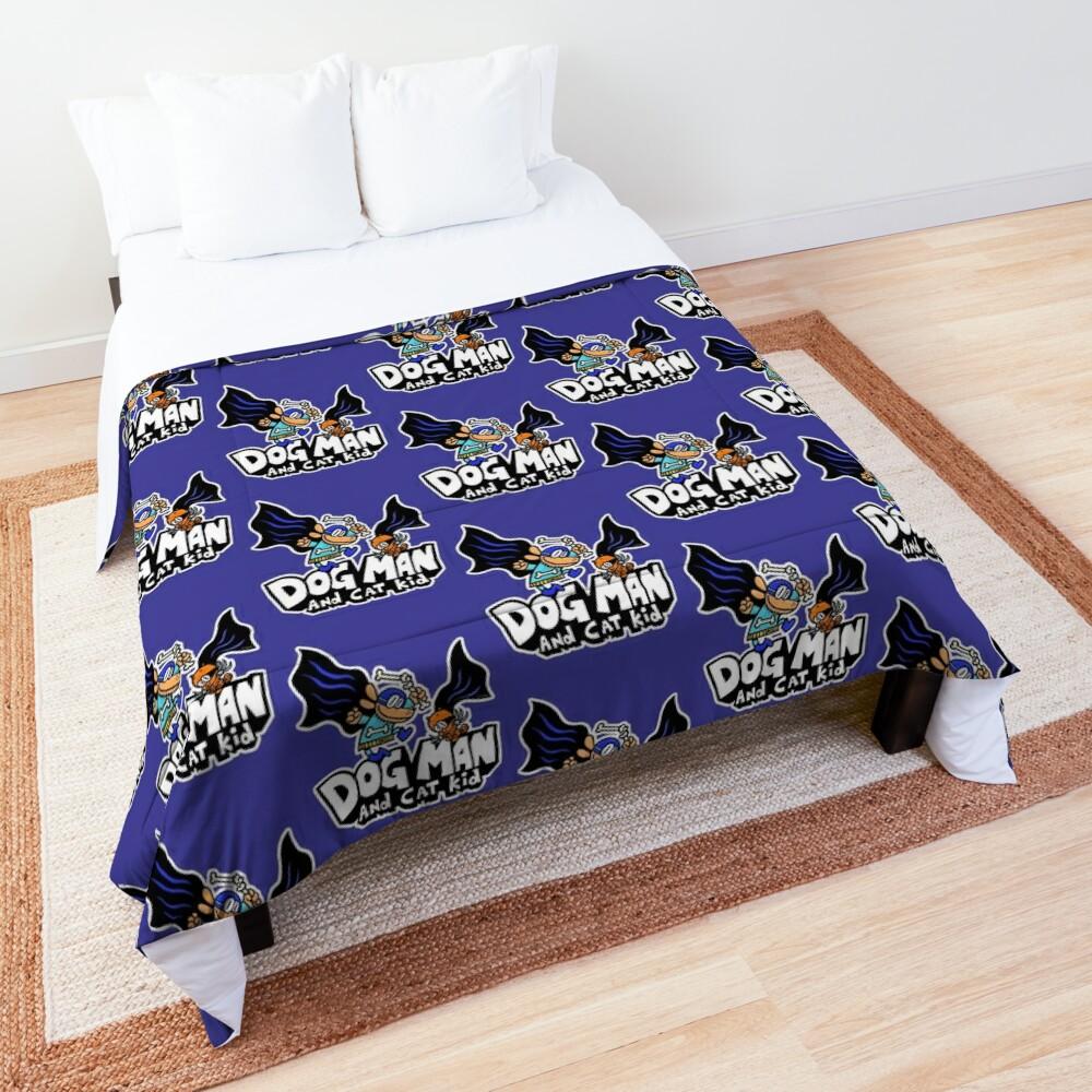 Dog Man and Cat Kid Comforter