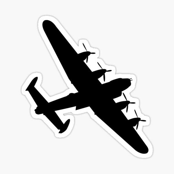 lancaster bomber Sticker