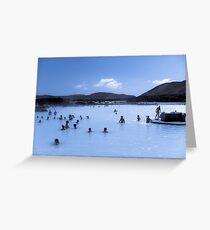 The Lagoon (Split-Toned) Greeting Card