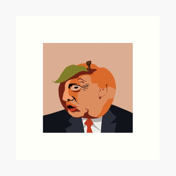 Impeach Donald Trump Art Print