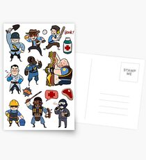 Team Fortress 2 / SD All Class Postcards