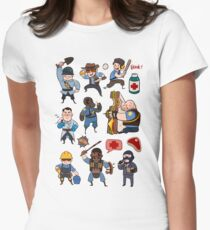 Team Fortress 2 / SD All Class Women's Fitted T-Shirt