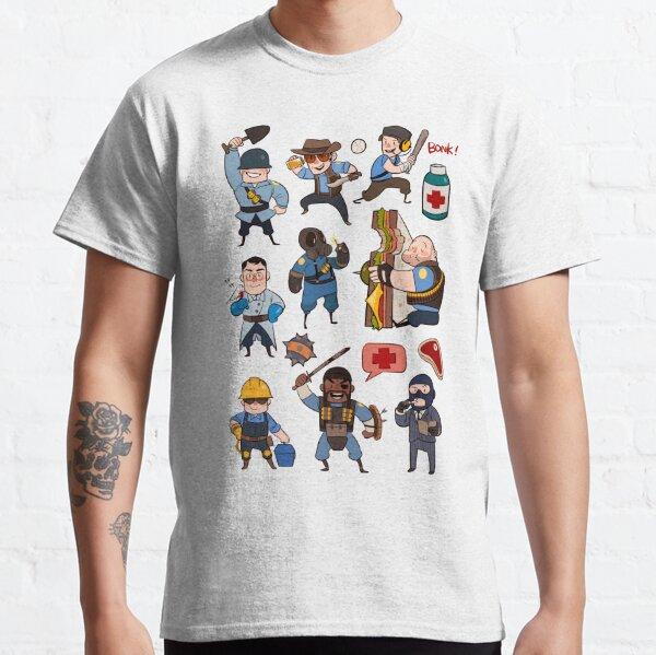 Team Fortress 2 / SD All Class Classic T-Shirt
