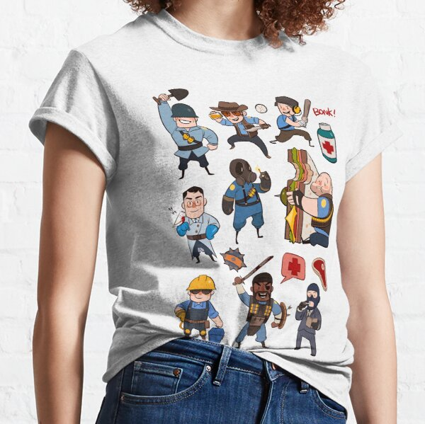 Team Fortress 2 / SD All Class Classic T-Shirt