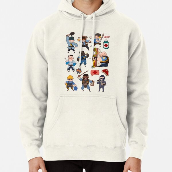 Team Fortress 2 / SD All Class Pullover Hoodie