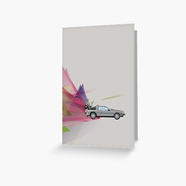 Back to the Future Greeting Card