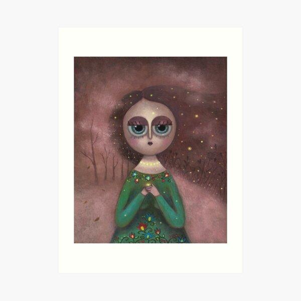 Mother of Fireflies Art Print
