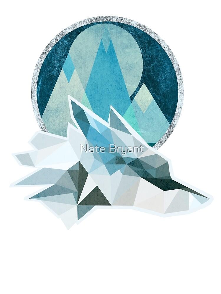 Frost Wolf Mountain by KingGorillaBark