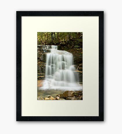 Falling Waters Lower Falls Framed Print
