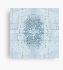 mapping mary; patterned map  Canvas Print