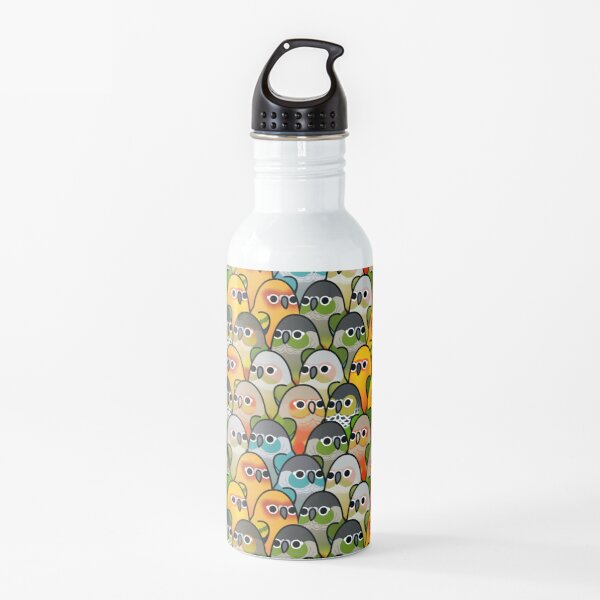 Too Many Birds! - Conure Squad Water Bottle