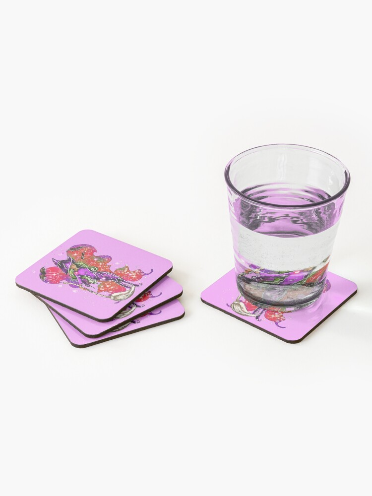 Alternate view of Courtney's Fairy Costumes™ Coasters (Set of 4)
