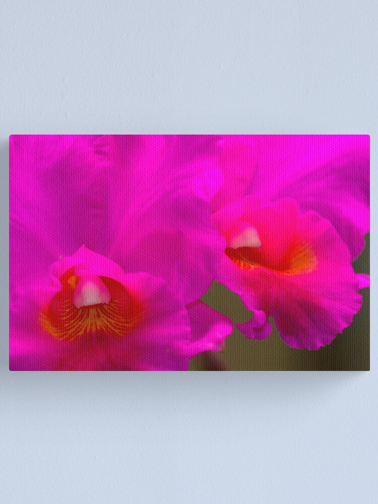 Alternate view of Orchid #5 Canvas Print