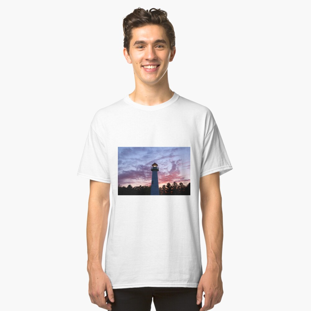 Lighthouse Michigan Classic T-Shirt