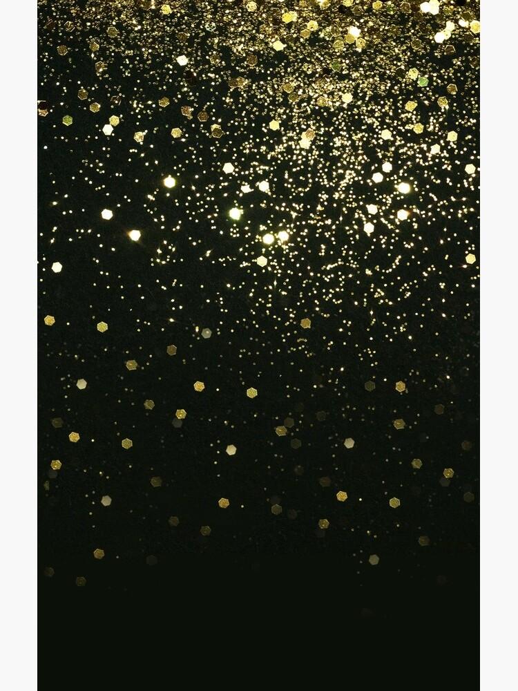 Sparkling Gold Glitter Glam #2 #shiny #decor #art  by anitabellajantz