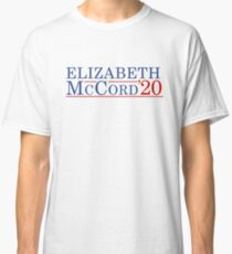 Elizabeth McCord for President 2020 Classic T-Shirt