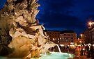 Fontana dei Quattro Fiumi - Piazza Navona, Rome by George Parapadakis ARPS (monocotylidono)