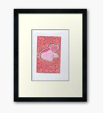Valentine Cookies Framed Print