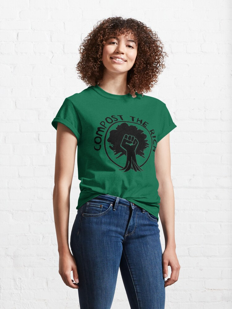 Alternate view of Compost the Rich Classic T-Shirt