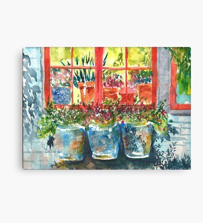 Outside My Window ll Canvas Print