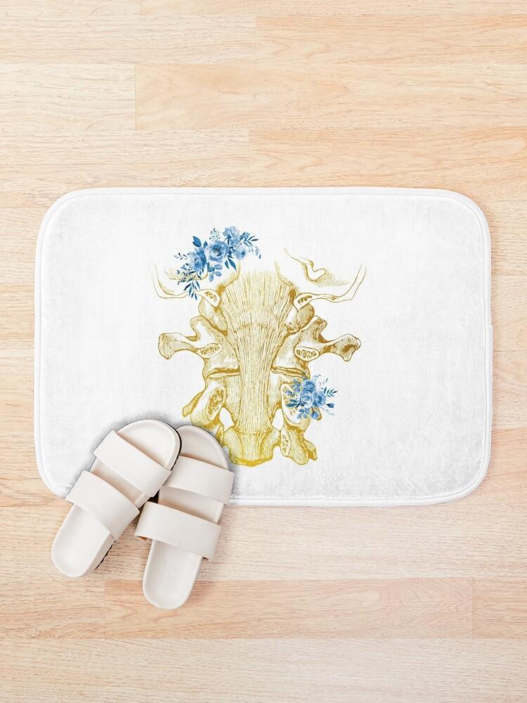 Alternate view of Cervical ligaments,The Cervical Spine Bath Mat