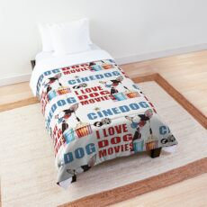 Dog dogs puppy dog Comforter