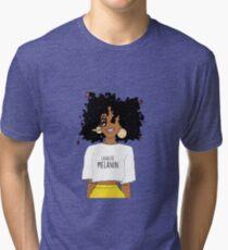 LEGALIZE MELANIN M (ABA) Tri-blend T-Shirt