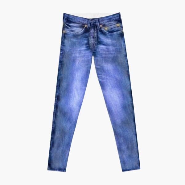 Blue Jeans Variation Leggings