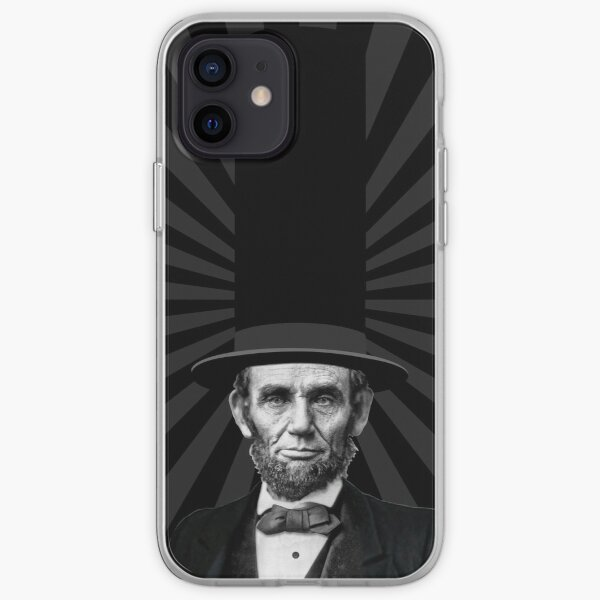 Abraham Lincoln Presidential Fashion Statement iPhone Soft Case