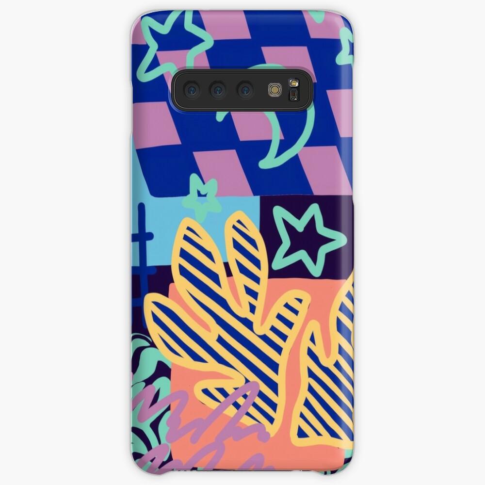 nighttime highway Case & Skin for Samsung Galaxy