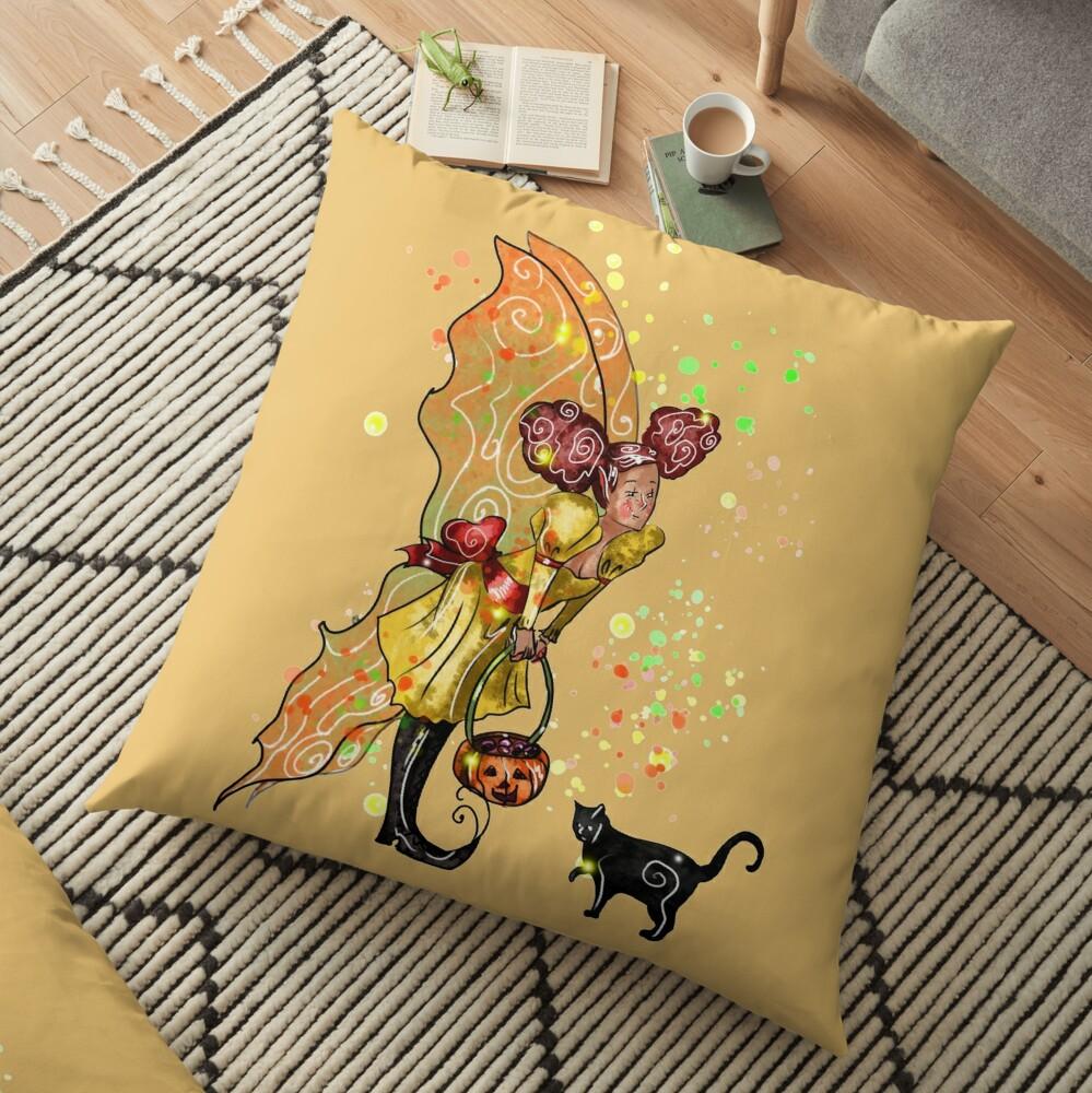 Fairy Trixie-Love The Trick or Treat Fairy™ Floor Pillow