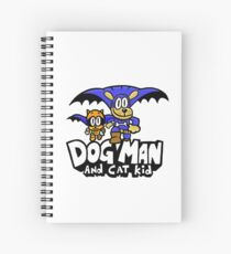 Dog Man with Cat Kid Spiral Notebook