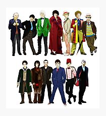 Doctor Who - The 13 Doctors Photographic Print