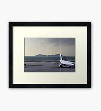 Dragon Air A330 Hong Kong  Framed Print
